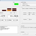 interfaccia dell'advanced battery manager di positive going